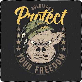 Soldato di maiale