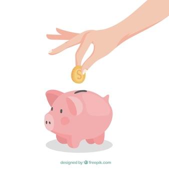Priorità bassa della banca piggy