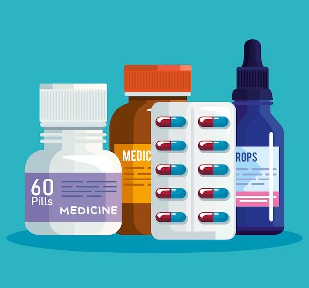 Pillole clipart gruppo pill