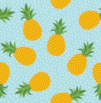 Sfondo senza giunte di ananas