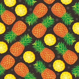 Reticolo senza giunte di ananas