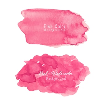 Rosa acquerello astratto.