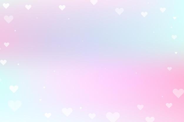Sfondo astratto rosa e blu per il giorno di san valentino.