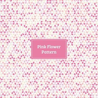 Modello di fiore rosa