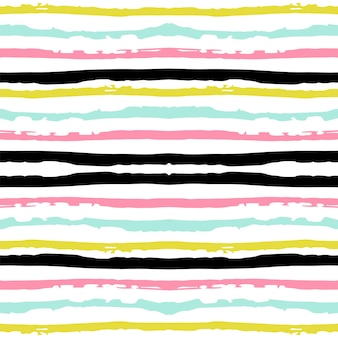 Modello senza cuciture di vettore della striscia geometrica rosa. tessuto navy design scandinavo. sfondo grafico di colore blu. motivo a strisce moderno americano. modello senza cuciture di vettore messicano semplice