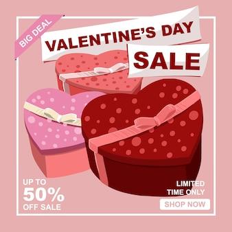 Libro regalo rosa per festeggia la vendita di san valentino