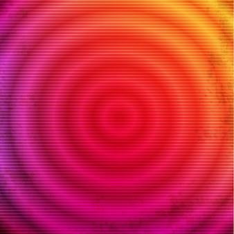 Cerchi sfumati rosa