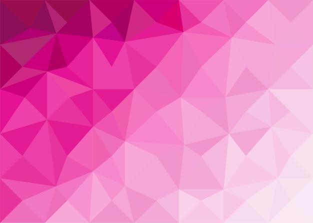 Poligono sfumato rosa