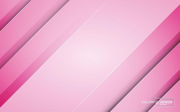 Fondo astratto moderno rosa