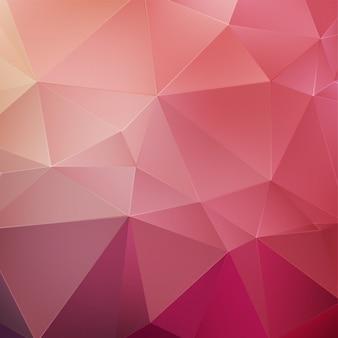 Sfondo poligonale rosa. priorità bassa geometrica dentellare