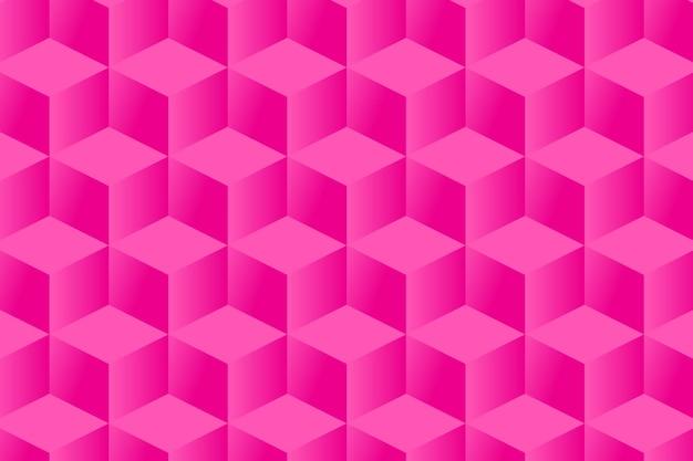 Sfondo rosa motivo geometrico quadrato