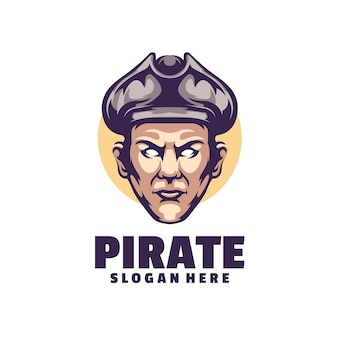 Pirates logo è un logo professionale pulito ed elegante per l'azienda o il personale