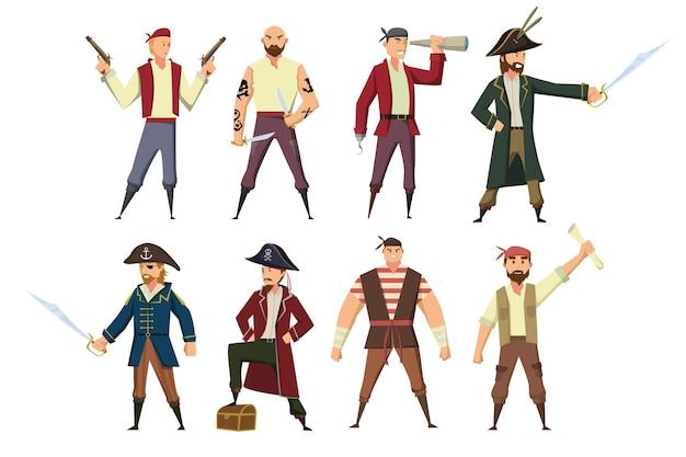 I pirati cercano di trovare il tesoro