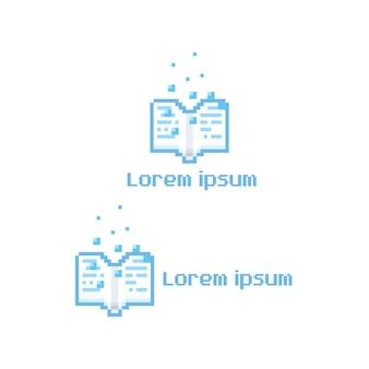 Logo del libro pixel