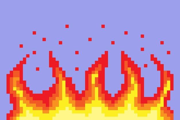 Pixel fuoco bit d'arte