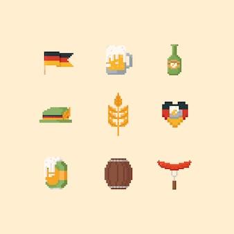 Pixel elementi oktoberfest