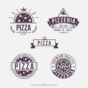 Distintivi pizza