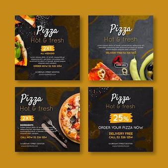 Post di instagram di pizzerie