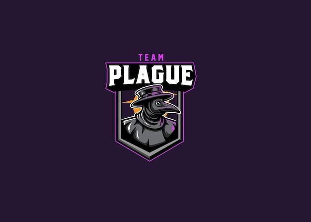 Logo della squadra esport del medico della peste