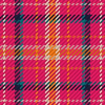 Motivo scozzese scozzese senza cuciture adatto per tessuti di moda e design grafico.