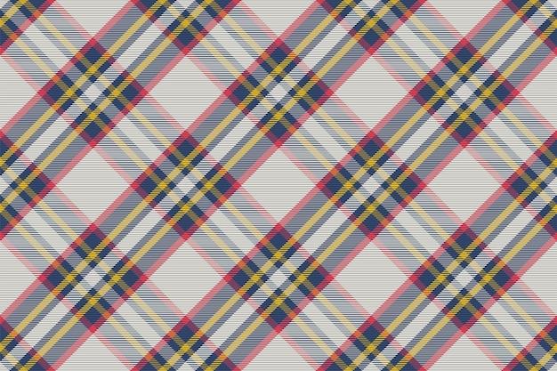 Motivo scozzese senza cuciture. controlla la trama del tessuto. sfondo quadrato a righe. tessile d