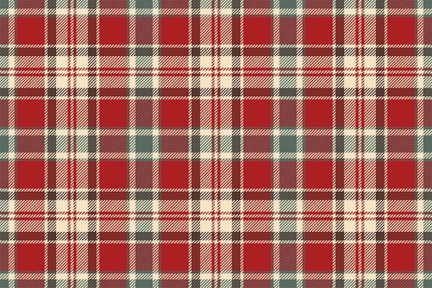 Motivo scozzese senza cuciture. controlla la trama del tessuto. sfondo quadrato a righe. disegno tessile vettoriale. fondale in tartan.