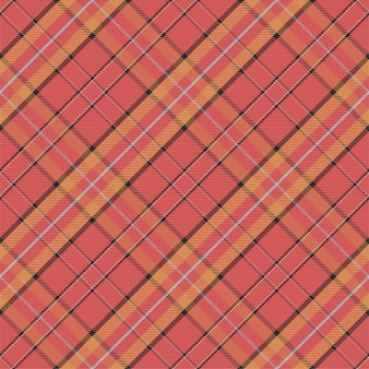 Modello plaid senza soluzione di continuità. controlla la trama del tessuto. sfondo quadrato a strisce. tartan di disegno tessile vettoriale