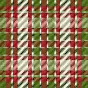 Motivo scozzese senza cuciture. controlla la trama del tessuto. sfondo quadrato a righe. tartan di disegno tessile vettoriale