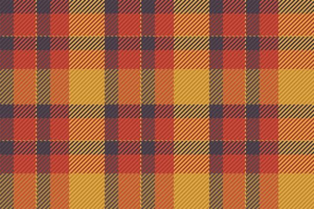 Plaid a quadri scozzese senza cuciture con motivo scozzese per gonna, tovaglia, coperta, copripiumino o altra stampa tessile moderna.