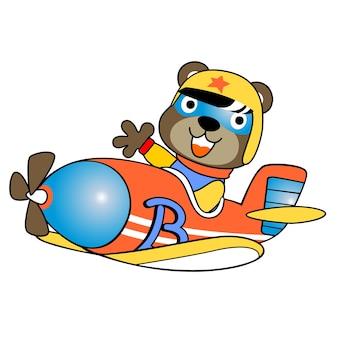 Vettore di fumetto aereo