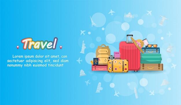 Viaggi in aereo e valigie