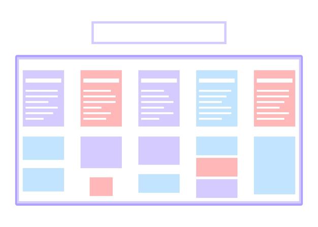 Pianificazione della nota dell'elenco dei programmi sulla bacheca delle attività pubblicazione giornaliera del calendario dell'elenco delle attività sul pianificatore della lavagna