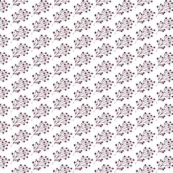 Struttura della pianta per carta da parati e carta da imballaggio in tessuto design decorativo floreale senza cuciture