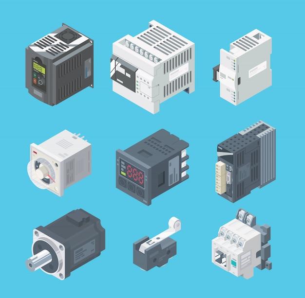 Plc factory logic controller big set