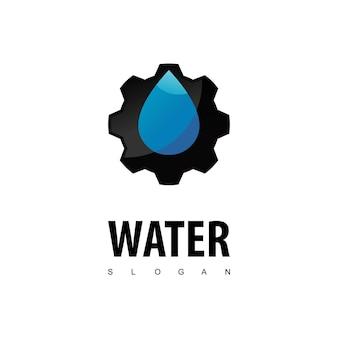 Ispirazione per il design del logo idraulico