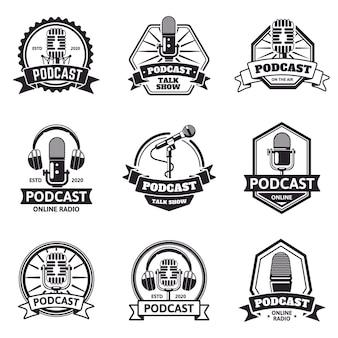 Emblemi di podcast