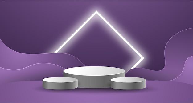 Display del podio per il prodotto di presentazione