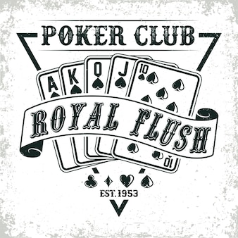 Logo del club di poker