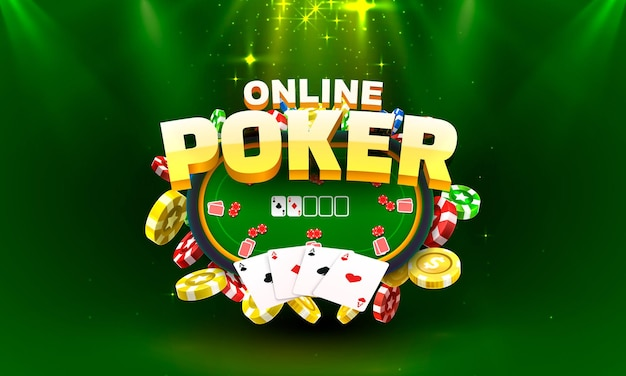 Gioco d'azzardo online di poker, banner di gioco, sport di club. .