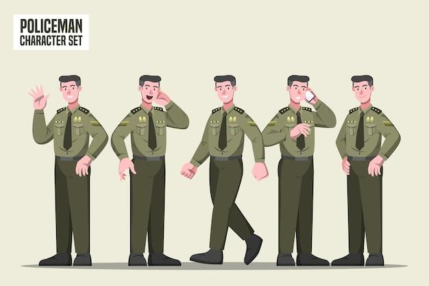 Poliziotto - personaggio profesi