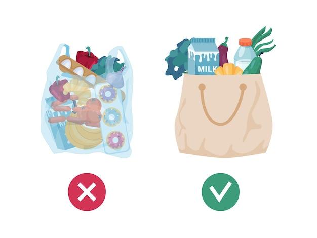 Problemi di inquinamento borse tessili di tessuto vs sacchetto di plastica