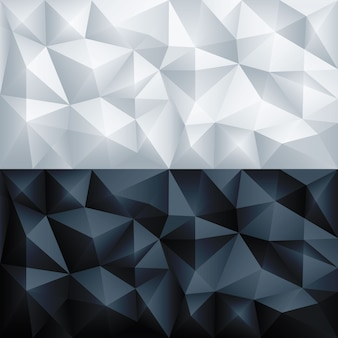 Poligono astratto triangolo geometrico poligonale dello sfondo