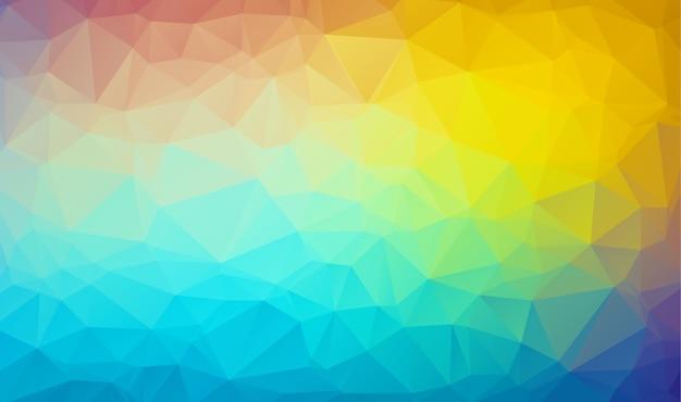 Sfondo di poligono con un triangolare