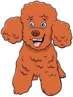 Barboncino toy dog personaggio dei cartoni animati animale