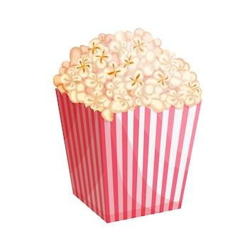 Illustrazione del secchio di popcorn