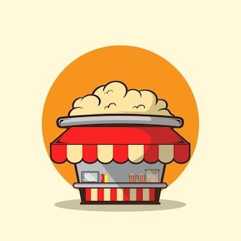 Negozio di popcorn