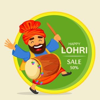 Popolare festival popolare invernale punjabi lohri