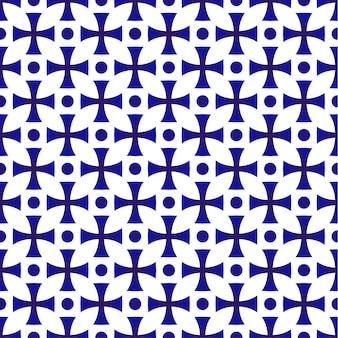 Disegno geometrico senza cuciture in porcellana, motivo in ceramica giapponese e stile cinese