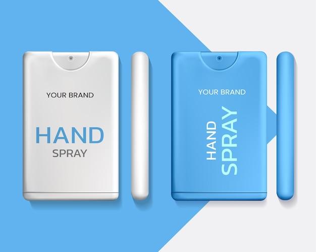 Set di imballaggio spray portatile per le mani