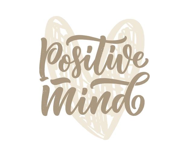 Slogan a caratteri positivi con elementi di doodle citazione divertente per poster di blog e vettore di design di stampa